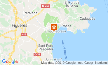 Mappa Empuriabrava Villa  119465