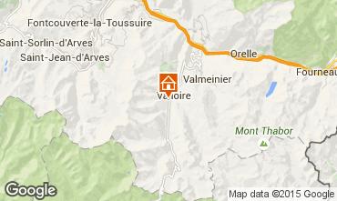 Mappa Valloire Chalet 23134