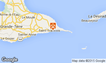 Mappa Saint Francois Bungalow 8957
