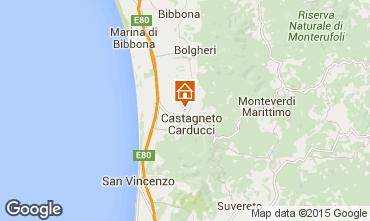 Mappa Castagneto Carducci Appartamento 90103