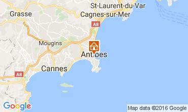 Mappa Antibes Appartamento 107452