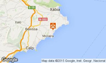 Mappa Moraira Villa  49775