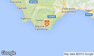 Mappa Marina di Camerota Appartamento 59365