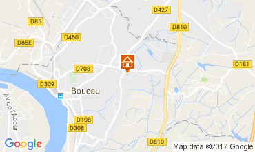 Mappa Bayonne Villa  108315