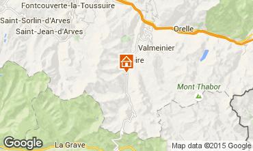 Mappa Valloire Appartamento 3412