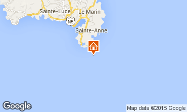Mappa Sainte Anne (Martinique) Monolocale 78983