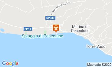 Mappa Pescoluse Casa 105714