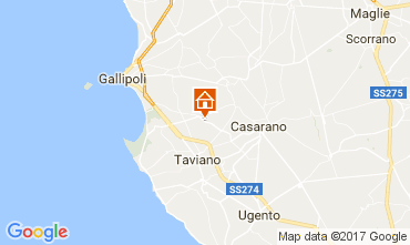 Mappa Gallipoli Villa  108209