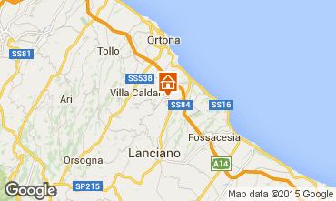 Mappa San Vito Chietino Casa rupestre 100195