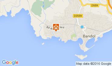 Mappa Bandol Appartamento 105620