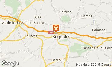 Mappa Brignoles B&B 96503