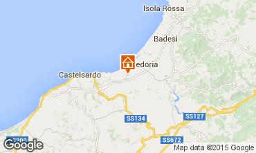 Mappa Valledoria Appartamento 92818