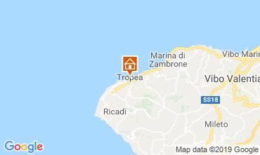 Mappa Tropea Appartamento 114211