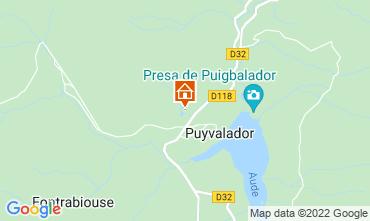 Mappa Puyvalador Chalet 116935