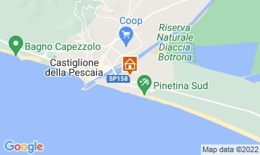 Mappa Castiglione della Pescaia Appartamento 57966