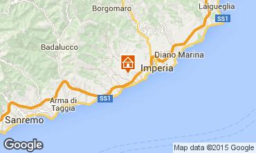 Mappa Imperia Villa  100570