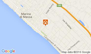 Mappa Marina di Massa Appartamento 70724