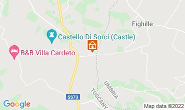 Mappa Anghiari Villa  116579
