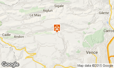 Mappa Valbonne Villa  95040