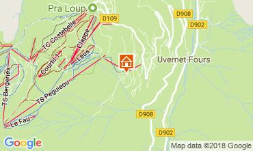 Mappa Pra Loup Appartamento 108350