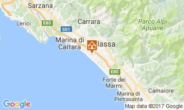 Mappa Marina di Massa Appartamento 72642