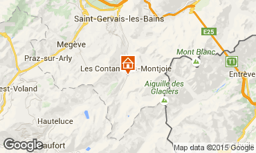 Mappa Les Contamines Montjoie Chalet 941