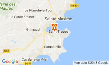 Mappa Saint Tropez Casa 95795