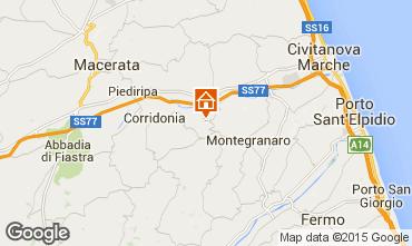 Mappa Civitanova Marche Villa  99866