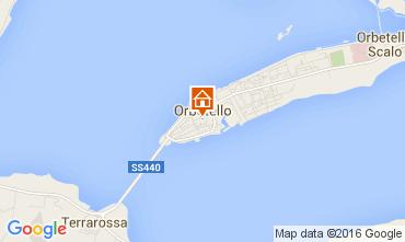 Mappa Orbetello Appartamento 103697
