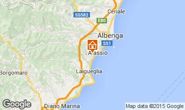 Mappa Alassio Appartamento 67128