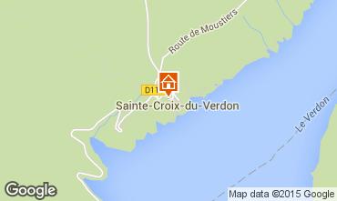 Mappa Sainte-Croix-du-Verdon Monolocale 82027