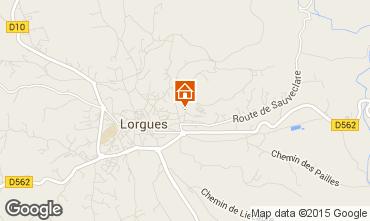 Mappa Lorgues Appartamento 68957