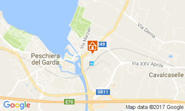 Mappa Peschiera del Garda Appartamento 70850