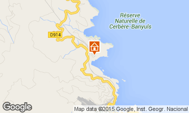 Mappa Banyuls-sur-Mer Appartamento 71534