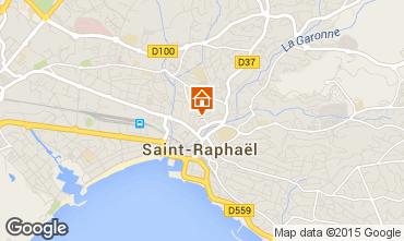 Mappa Saint Raphael Appartamento 71929