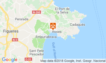Mappa Rosas Appartamento 117295