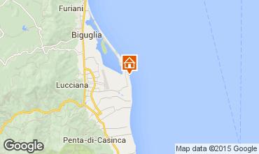 Mappa Lucciana Villa  100799
