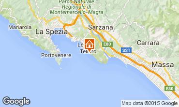 Mappa Lerici Appartamento 55968