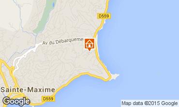 Mappa Sainte Maxime Villa  8541
