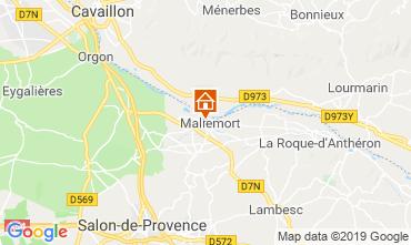 Mappa Aix en Provence Casa 91300