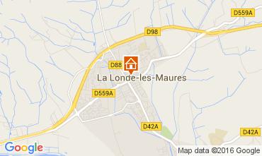 Mappa La Londe les Maures Appartamento 84705