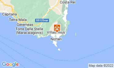 Mappa Villasimius Appartamento 61164