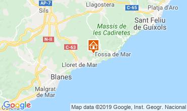 Mappa Lloret de Mar Villa  117948