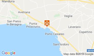 Mappa Porto Cesareo Appartamento 109072