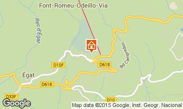 Mappa Font Romeu Appartamento 4136