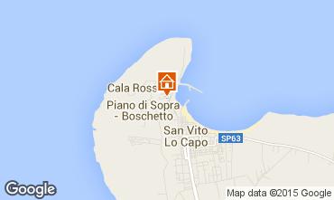 Mappa San Vito lo Capo Appartamento 51063