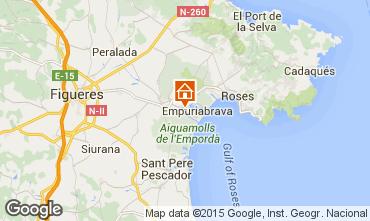 Mappa Empuriabrava Villa  51978