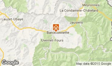 Mappa Barcelonnette Chalet 68406