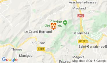 Mappa Le Grand Bornand Chalet 110705