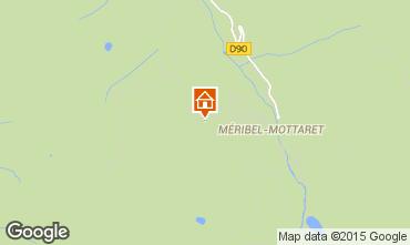 Mappa Méribel Appartamento 65812